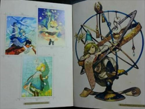 【Excellent】 Kamome Shirahama Art Work Book Witch Hat Atelier of Witch Hat