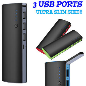 50000mAh-3-USB-External-Power-Bank-Portable-LCD-LED-Charger-for-Cell-Phone-US