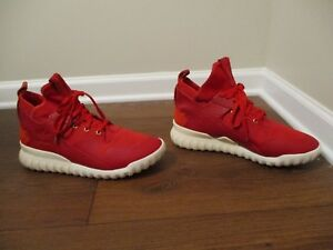 5e1969046fcf4 Used Worn Size 12 Adidas Tubular X CNY Chinese New Year Shoes Red ...