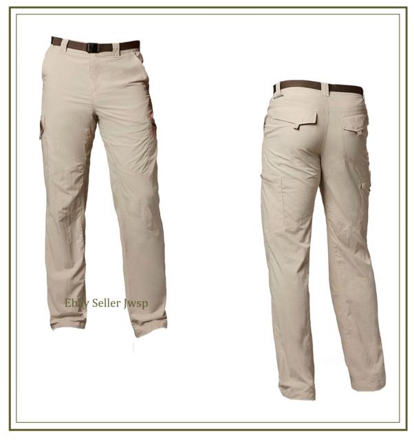 NWT Columbia Men/'s Silver Ridge Stretch Convertible Pants Major 38 x 34 MSRP $70