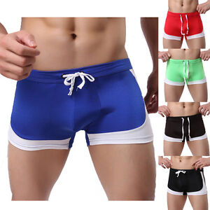 Boy-039-s-Men-039-s-Swim-Shorts-Swimwear-Swimming-Trunks-Underwear-Boxer-Briefs-Pants-UK