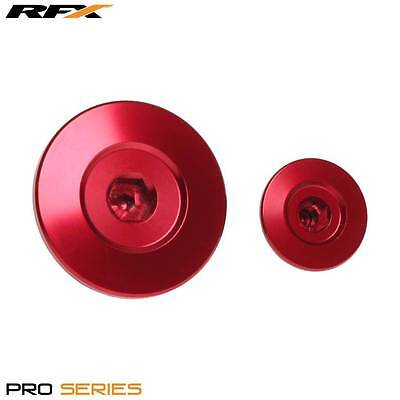 RFX Pro Engine Timing Plug Set Honda CRF150 07-14 CRF250 10-14 CRF450 02-14 RED