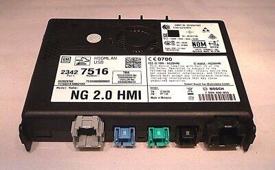GM 2.0 HMI Communication Control Module Multimedia New OEM 23443746