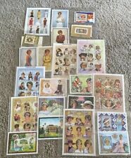 Princess Diana International Stamp Collection 89 sets of stamps plus coins