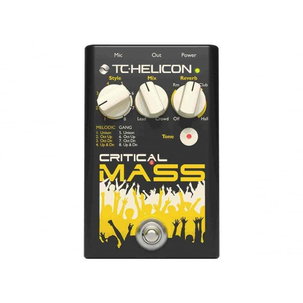 TC Helicon Critical Mass - Vocal Effects Pedal
