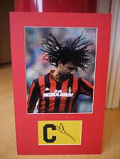 Mounted Ruud Gullit Signed Captains Armband Display - AC Milan/Holland Football