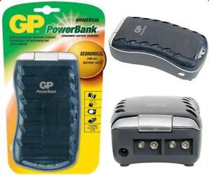 Gp Universal Battery Charger Aaa Aa C D 9v Nimh Nicd Ebay