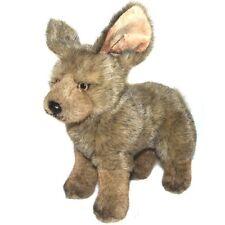 25cm Bat-Eared Fox Soft Toy by Dowman - Plush Cuddly Stuffed Toy