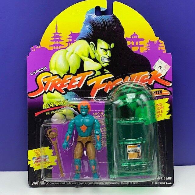 Street Fighter II action figure toy Hasbro GI Joe moc capcom Blanka Bio Warrior