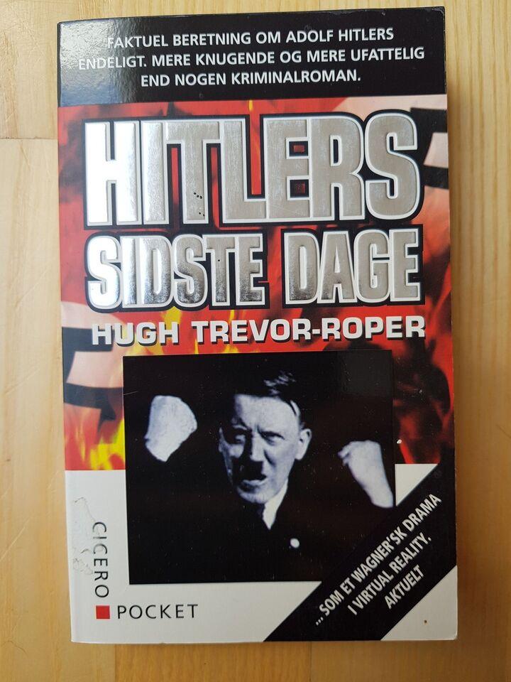 Hitlers sidste dage, Hugh Trevor-Roper, genre: historie