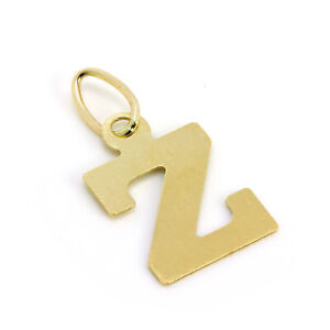 Lightweight-9ct-Gold-Initial-Letter-Charms-Pendants