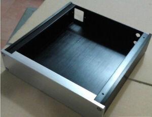 ONE-SET-Power-amplifier-Enclosure-DAC-preamp-case-PSU-Box-screw-Power-socket