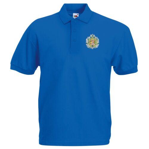 Argyll /& Sutherland Highlander Polo Shirt Embroidered Logo