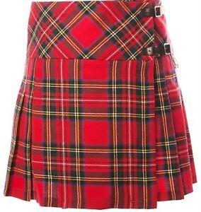 Wool Billie Kilt Tartan mit 15 15 Schurwolle Ladies Billie Schurwolle Pure Damen Kilt wBpFCq
