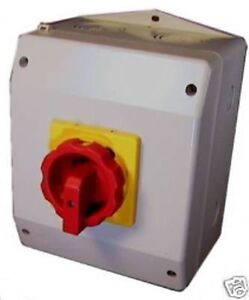 Switch Motor Disconnect Ip 65 Enclosure Enclosed 30 Hp 63