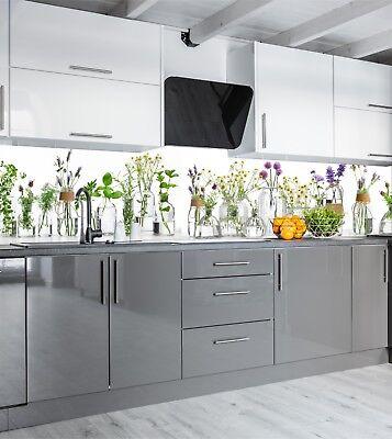 Küchenrückwand SP688 Kräuter Acrylglas Spritzschutz Fliesenspiegel Rückwand  | eBay