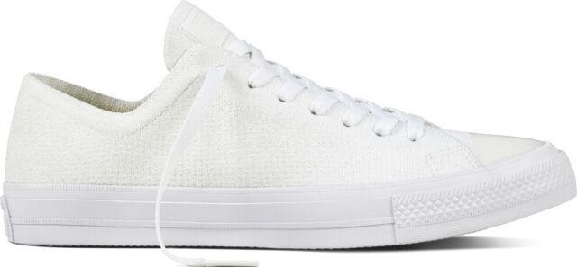 6b46deb75d1c Converse Chuck Taylor All Star X Nike Flyknit Ox Low 157592C White White