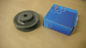 AMEC-BK36-1-2-SINGLE-GROOVE-PULLEY-FOR-4L-5L-amp-B-BELT-3-75-034-OD-1-2-034-BORE