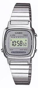 Casio-LA-670WEA-7E-Orologio-Donna-polso-Vintage-Nuovo-Crono-Sveglia