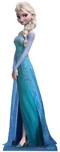 Elsa Disney Frozen Tamaño natural figura humana de cartón Nuevo Disney Princess