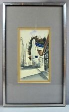 SERGE PAQUE__Orig Signed Watercolor__Noted Canadian Artist__ExC__SHIPS FREE