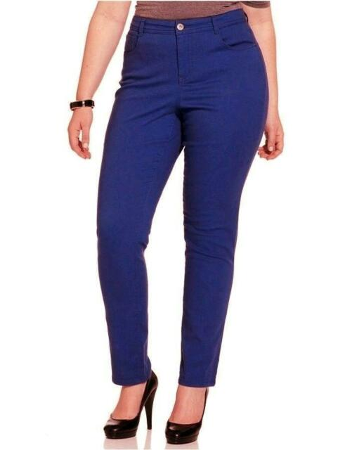 Style Co Womens Jeans Sapphire Blue Slim Leg Natural Fit Colored Size 16 For Sale Online Ebay Designed with a smoothing interior mesh tummy panel, this crop jean enhances your figure. style co womens jeans sapphire blue slim leg natural fit colored size 16
