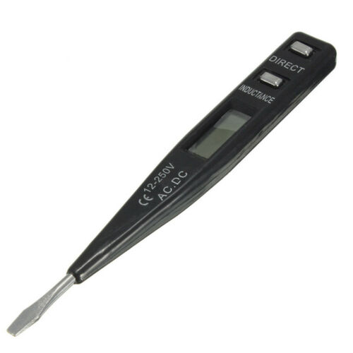 LCD Digital AC//DC Voltage Kontinuität Detektor Tester 12-240V SLGCA AIP