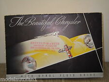 Folder/Brochure Chrysler Royal,Windsor,Town & Country / Saratoga/NewYorker *4448