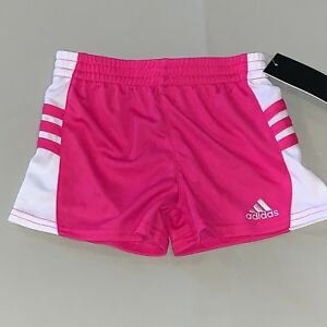 852bac6ed Girls Size 2 2t Adidas Athletic Running Shorts Pink Nwt 191358764925 ...