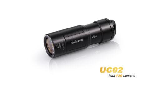 Fenix uc02 manojo de llaves LED linterna sobre Micro-USB Port recargable