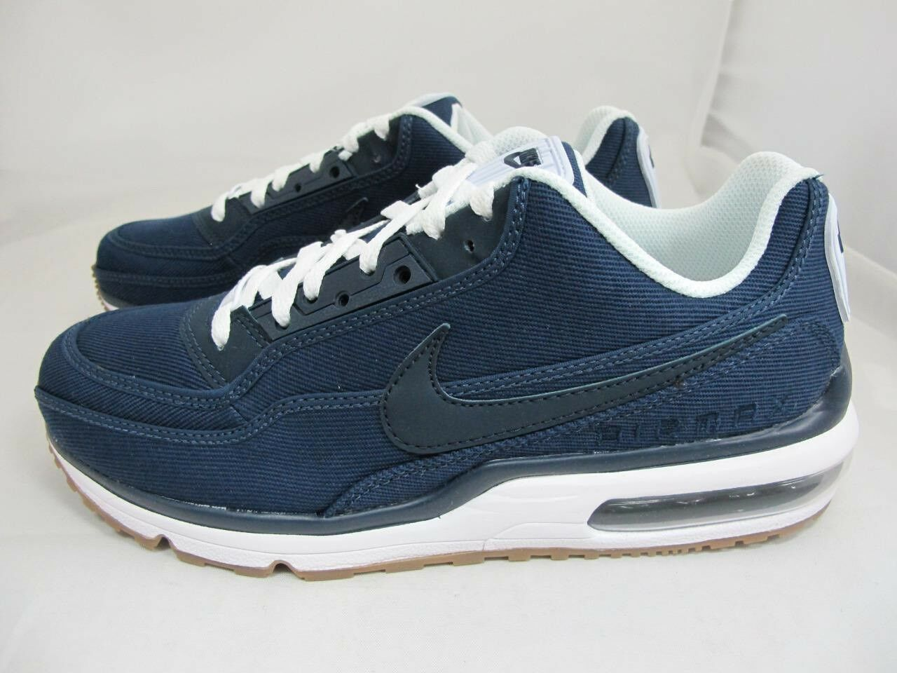 Nike Air Max azul LTD 3 txt denim azul Max marino Blanco Obsidiana chicle 746379-4SZ 8,5 cbcd2f