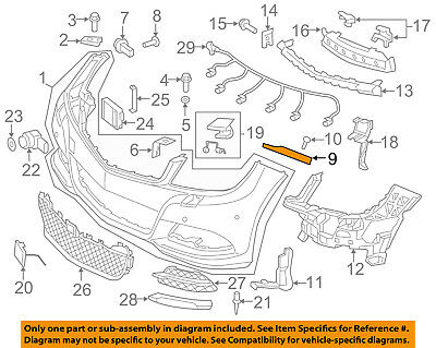 Genuine Mercedes-Benz Upper Bracket 204-881-08-06