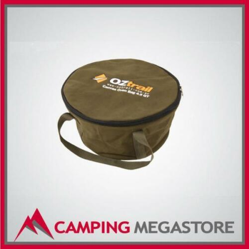 OZTRAIL HEAVY DUTY CANVAS CAMP OVEN BAG FOR 2 QUART