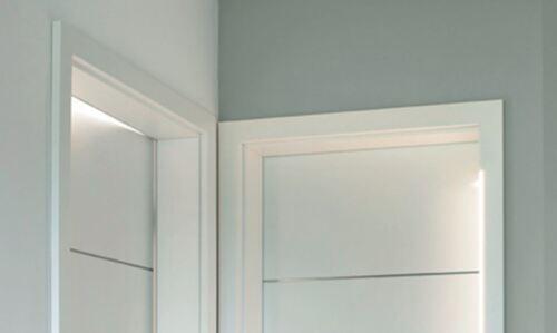 Ringo Türzarge Weißlack mit Rundkante R2 Bekleidungsbreite 63 mm 211,0 cm Höhe