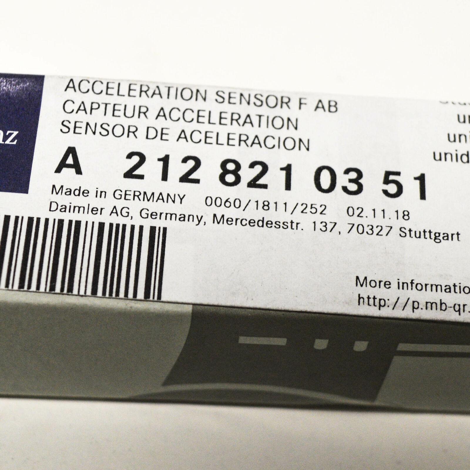 Original Mercedes a2128210351 Crash sensor sensor de aceleración