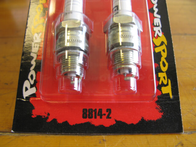 SOLD IN PAIRS ONLY. CHAMPION SPARK PLUGS #8814-2 NEW