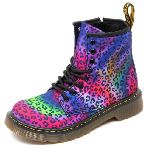 D3868 without box anfibio bimba DR. MARTENS leopardato boot shoe kid girl