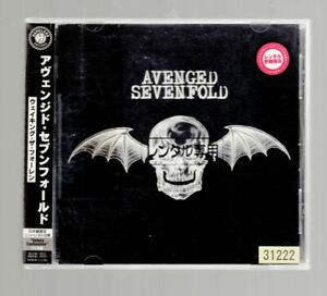 Waking-The-Fallen-CD-Avenged-Sevenfold-with-OBI