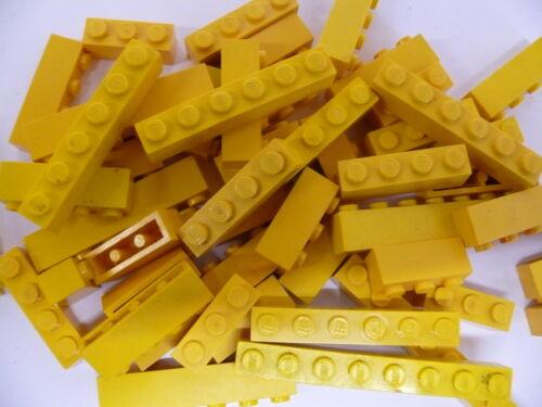 Basic Steine gelb 40 Stück LEGO ® 1 x 4 x 1 Bricks Basicsteine