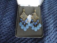 Nolan Miller Glamour Collection Tango Chandelier Dangle Post Earrings A2400