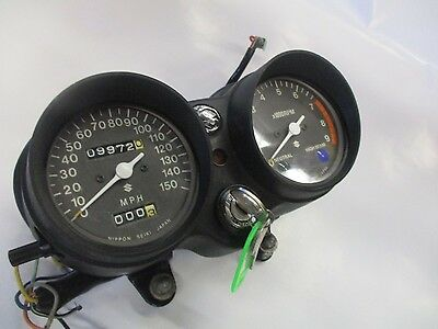 Suzuki  GT500  SUPER NICE SPEEDO TACHO SET 1976 1977