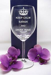 Personalised-Engraved-KEEP-CALM-wine-glass-with-your-own-message