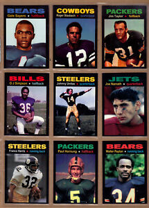 COMPLETE-SET-OF-36-MONARCH-CORONA-GLORY-DAYS-FOOTBALL-CARDS