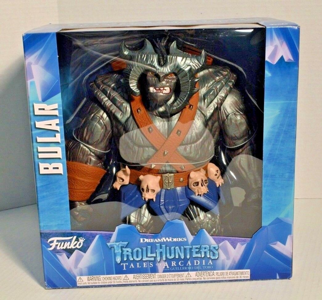 FUNKO - TrollHunters GIANT Bular 12 Inch Collectible Action Figure NEW in Box