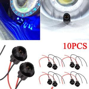10pcs-T10-W5W-168-194-Auto-Socket-Connector-Extension-LED-Bulb-Wedge-Light-Base