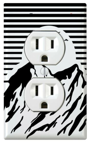 Outdoor Knob Night Light Bathroom Bedroom Mountain Light Switch Cover
