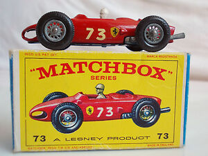 MATCHBOX-LESNEY-SERIE-73-FERRARI-RACING-CAR-IN-OVP-TOP-RARITAT