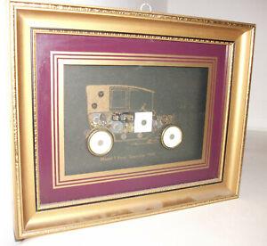 Ken Broadbent Collage Model T Ford Town Car 1915 Uhren Kleinteilen Uhrenteilen Ebay