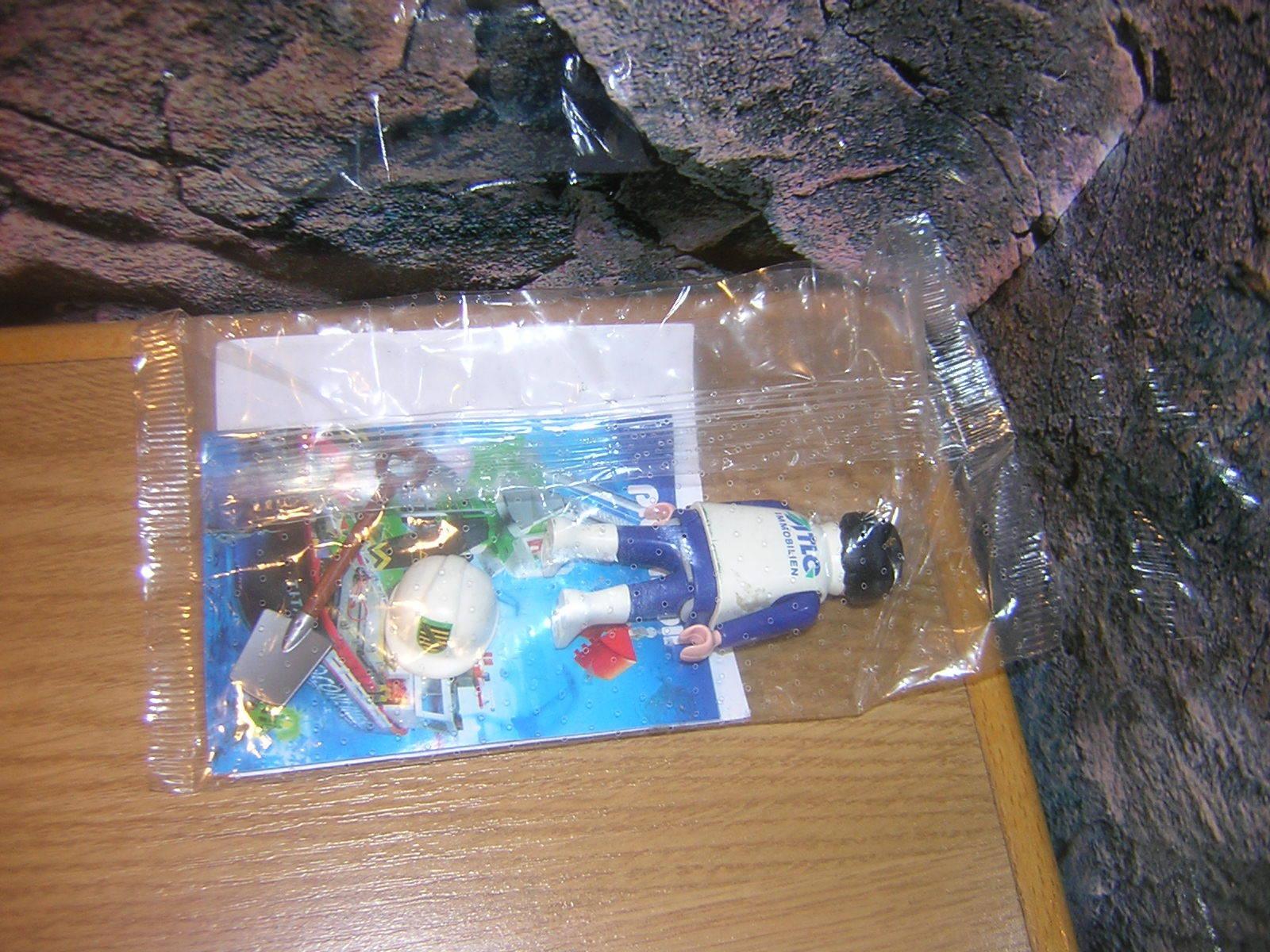 (A 3 1) pces Immobilien OUVRIER promo figurine Figurine Spéciale NEUF