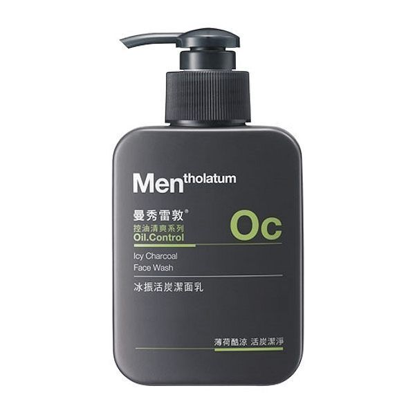 Mentholatum Oc Men Men S Icy Charcoal Oil Control Face Wash Cleanser